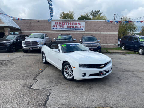 2013 Chevrolet Camaro for sale at Brothers Auto Group in Youngstown OH