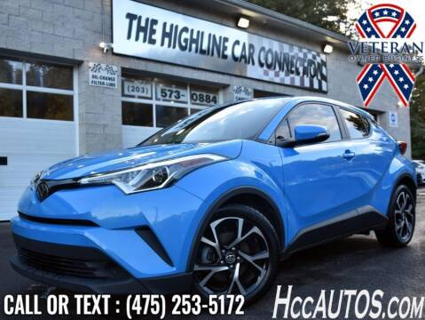 2019 Toyota C-HR for sale at The Highline Car Connection in Waterbury CT