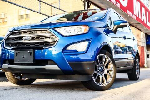 2018 Ford EcoSport for sale at HILLSIDE AUTO MALL INC in Jamaica NY