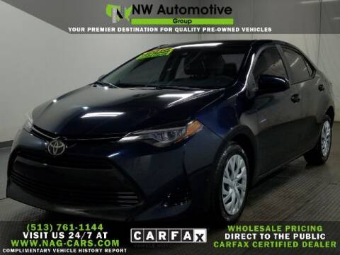 2018 Toyota Corolla for sale at NW Automotive Group in Cincinnati OH