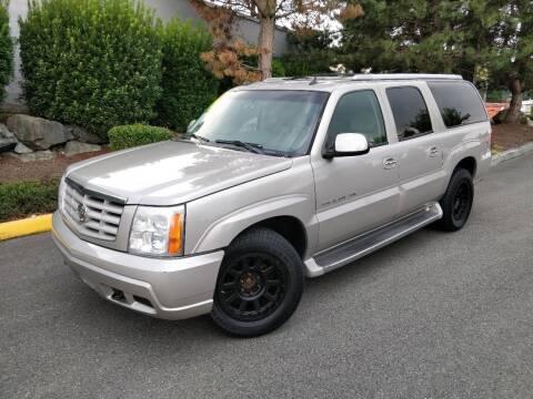 2005 Cadillac Escalade ESV for sale at SS MOTORS LLC in Edmonds WA