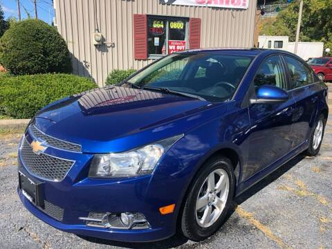 2012 Chevrolet Cruze for sale at Mehan's Auto Center in Mechanicville NY
