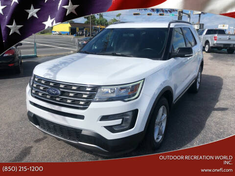 2017 Ford Explorer for sale at Outdoor Recreation World Inc. in Panama City FL