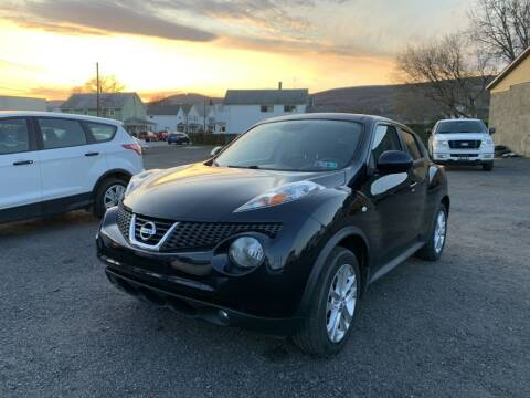 2012 Nissan JUKE for sale at VINNY AUTO SALE in Duryea PA