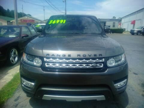 2014 Land Rover Range Rover Sport for sale at AUTOPLEX 528 LLC in Huntsville AL