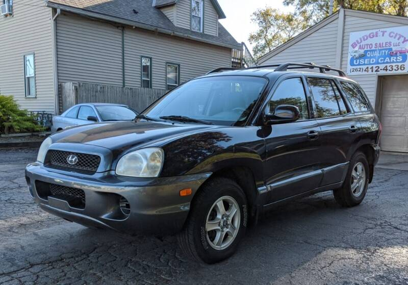 2004 Hyundai Santa Fe for sale at Budget City Auto Sales LLC in Racine WI