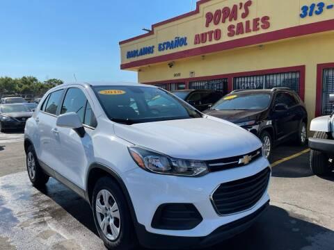 2018 Chevrolet Trax for sale at Popas Auto Sales in Detroit MI