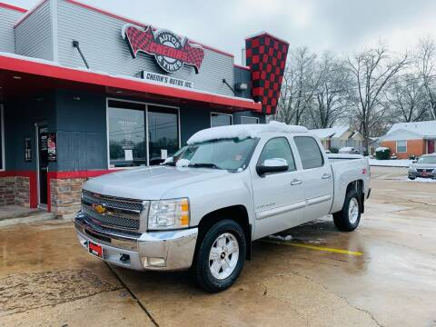 2012 Chevrolet Silverado 1500 for sale at Chema's Autos & Tires in Tyler TX