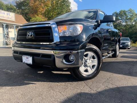 2013 Toyota Tundra for sale at Mega Motors in West Bridgewater MA