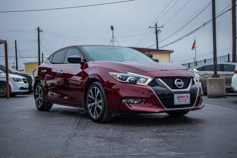 2018 Nissan Maxima for sale at Jerrys Auto Sales in San Benito TX