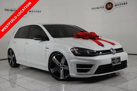 2017 Volkswagen Golf R for sale at INDY'S UNLIMITED MOTORS - UNLIMITED MOTORS in Westfield IN