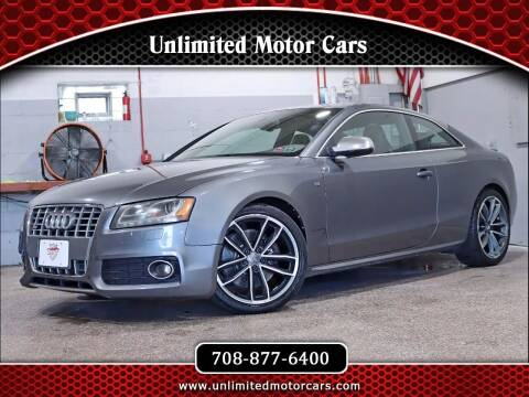 2012 Audi S5 for sale at Unlimited Motor Cars in Bridgeview IL