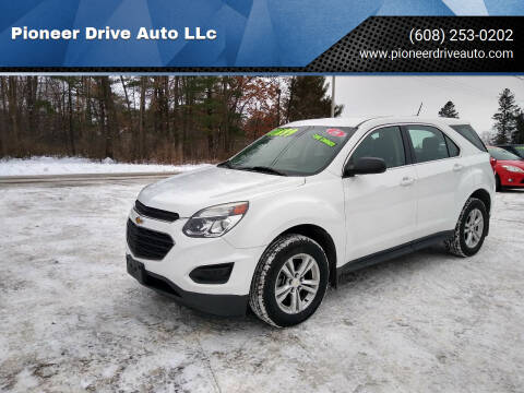 2016 Chevrolet Equinox for sale at Pioneer Drive Auto LLc in Wisconsin Dells WI