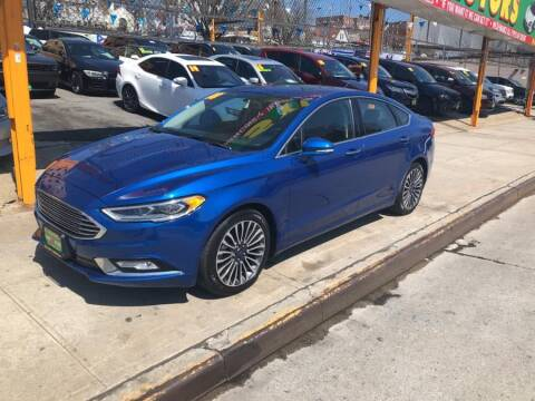 2018 Ford Fusion for sale at Sylhet Motors in Jamacia NY