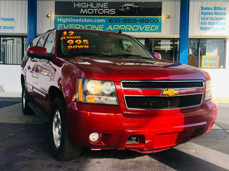 2012 Chevrolet Suburban for sale at Highline Motors in Aston PA