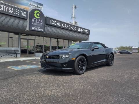 2015 Chevrolet Camaro for sale at Ideal Cars Atlas in Mesa AZ