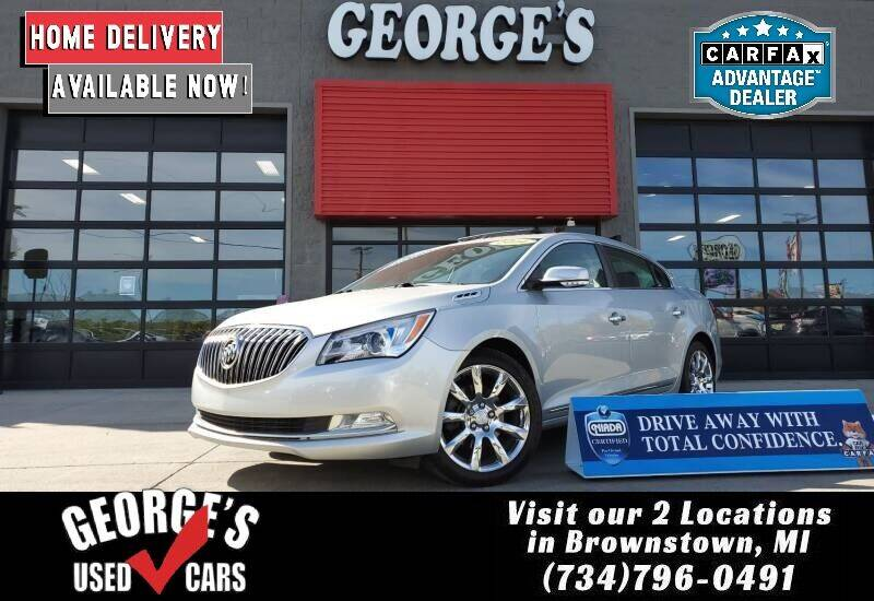 2014 Buick LaCrosse for sale at George's Used Cars - Pennsylvania & Allen in Brownstown MI