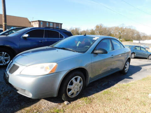 2008 Pontiac G6 for sale at WOOD MOTOR COMPANY in Madison TN