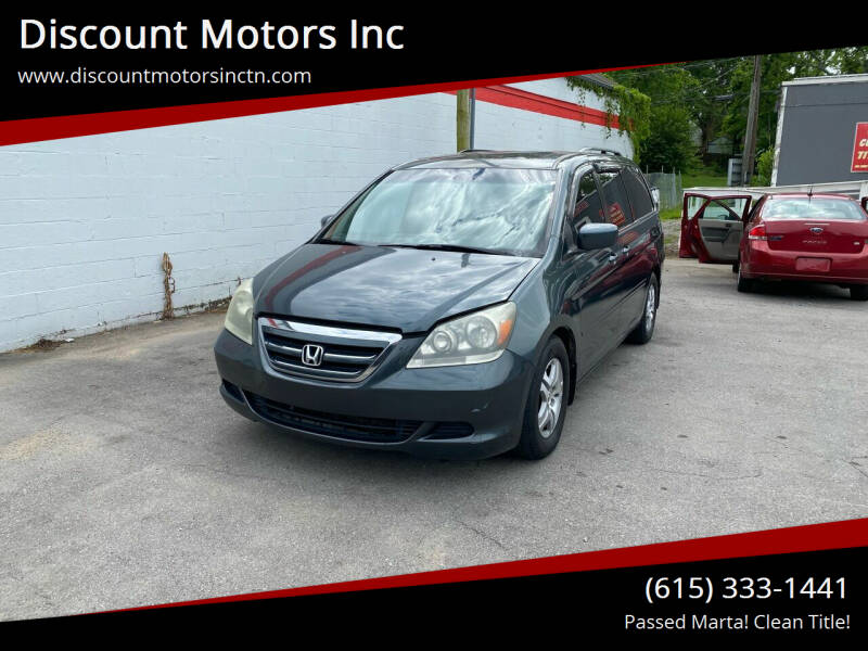 2006 Honda Odyssey for sale at Discount Motors Inc in Nashville TN