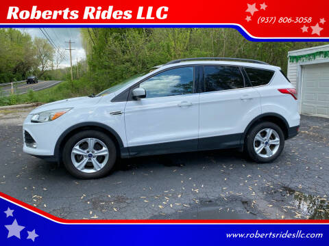 2016 Ford Escape for sale at Roberts Rides LLC in Franklin OH