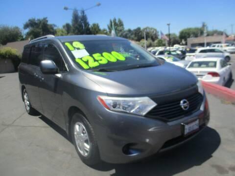 2014 Nissan Quest for sale at Quick Auto Sales in Modesto CA