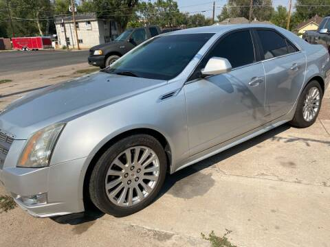 2010 Cadillac CTS for sale at PYRAMID MOTORS AUTO SALES in Florence CO