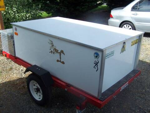 2007 CHUNU UTILITY  TRAILER for sale at M & M Auto Sales LLc in Olympia WA