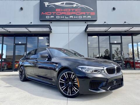 2018 BMW M5 for sale at Exotic Motorsports of Oklahoma in Edmond OK