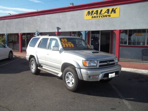 2000 Toyota 4Runner for sale at Atayas Motors INC #1 in Sacramento CA
