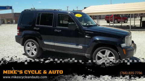2011 Jeep Liberty for sale at MIKE'S CYCLE & AUTO in Connersville IN