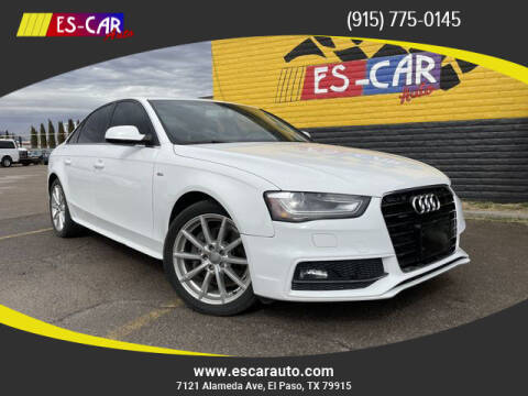 2014 Audi A4 for sale at Escar Auto in El Paso TX