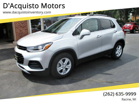 2018 Chevrolet Trax for sale at D'Acquisto Motors in Racine WI