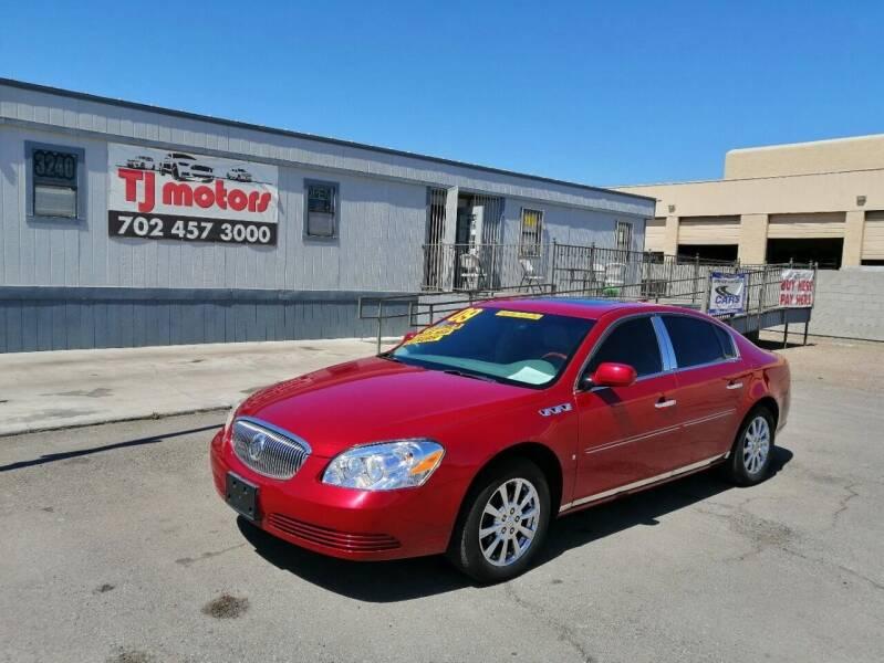 2009 Buick Lucerne for sale at TJ Motors in Las Vegas NV