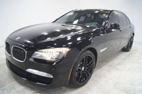 2012 BMW 7 Series for sale at Sacramento Luxury Motors in Carmichael CA