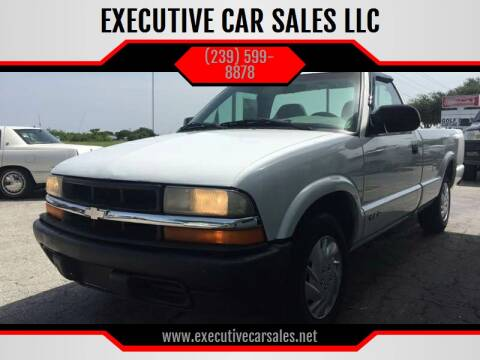 1999 Chevrolet S-10 for sale at EXECUTIVE CAR SALES LLC in North Fort Myers FL