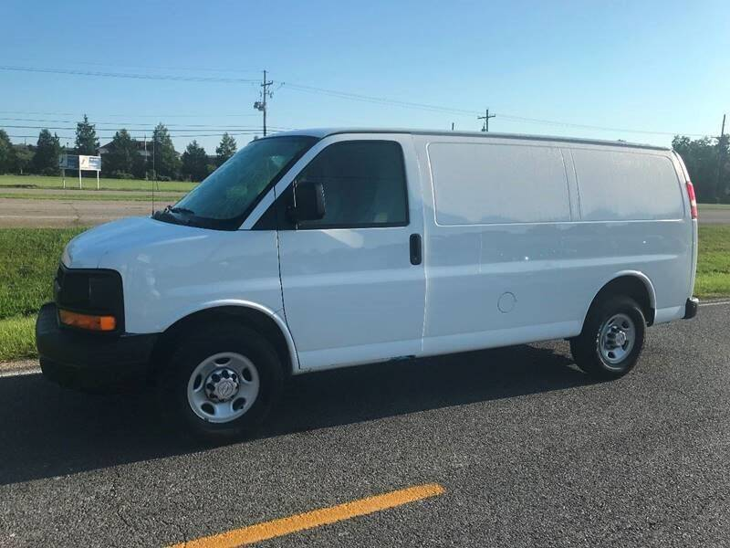 2016 Chevrolet Express Cargo for sale at Double K Auto Sales in Baton Rouge LA