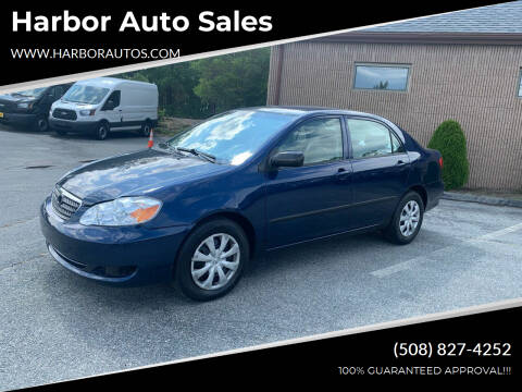 2007 Toyota Corolla for sale at Harbor Auto Sales in Hyannis MA