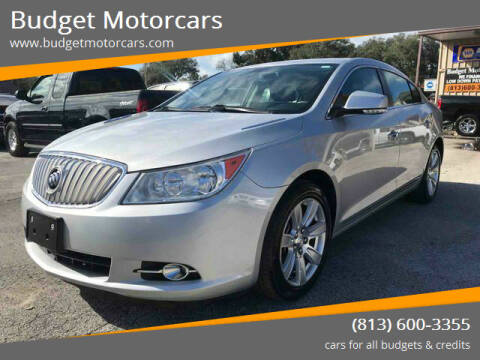 2012 Buick LaCrosse for sale at Budget Motorcars in Tampa FL