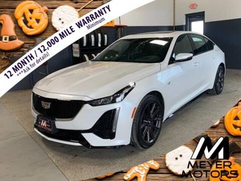 2020 Cadillac CT5 for sale at Meyer Motors in Plymouth WI