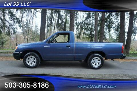 2000 Nissan Frontier for sale at LOT 99 LLC in Milwaukie OR