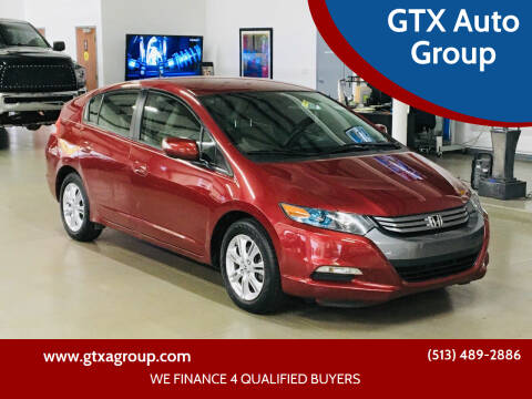 2010 Honda Insight for sale at GTX Auto Group in West Chester OH