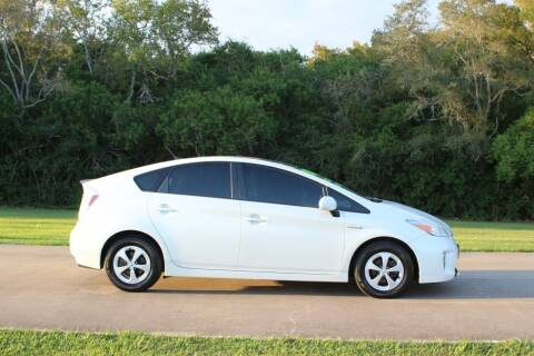 2012 Toyota Prius for sale at Clear Lake Auto World in League City TX
