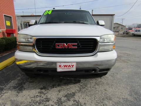 2004 GMC Yukon XL for sale at X Way Auto Sales Inc in Gary IN