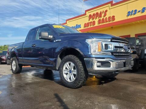 2018 Ford F-150 for sale at Popas Auto Sales in Detroit MI