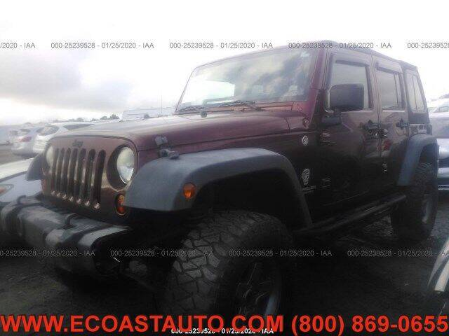 2008 Jeep Wrangler Unlimited for sale at East Coast Auto Source Inc. in Bedford VA