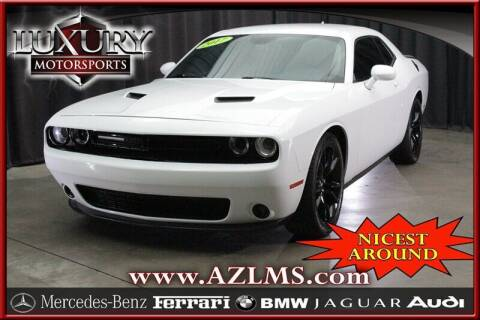 2017 Dodge Challenger for sale at Luxury Motorsports in Phoenix AZ