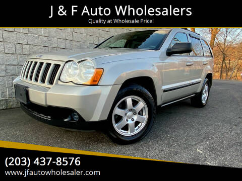 2009 Jeep Grand Cherokee for sale at J & F Auto Wholesalers in Waterbury CT
