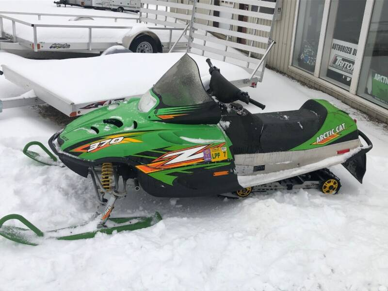 2004 Arctic Cat Z 370 for sale at Champlain Valley MotorSports in Cornwall VT
