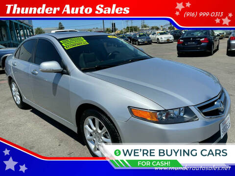 2006 Acura TSX for sale at Thunder Auto Sales in Sacramento CA