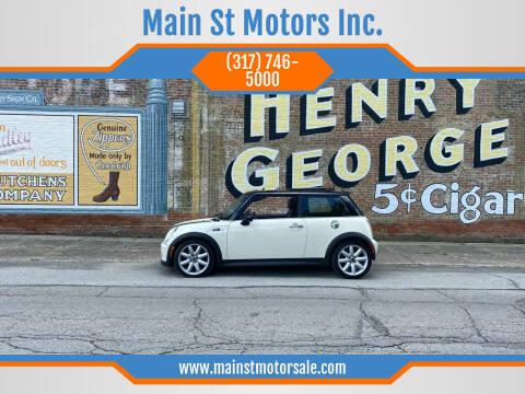 2005 MINI Cooper for sale at Main St Motors Inc. in Sheridan IN